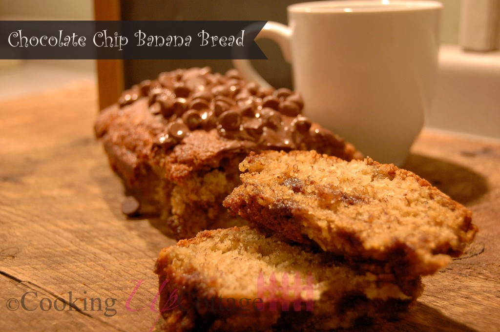 Chocolate chip banaba bread