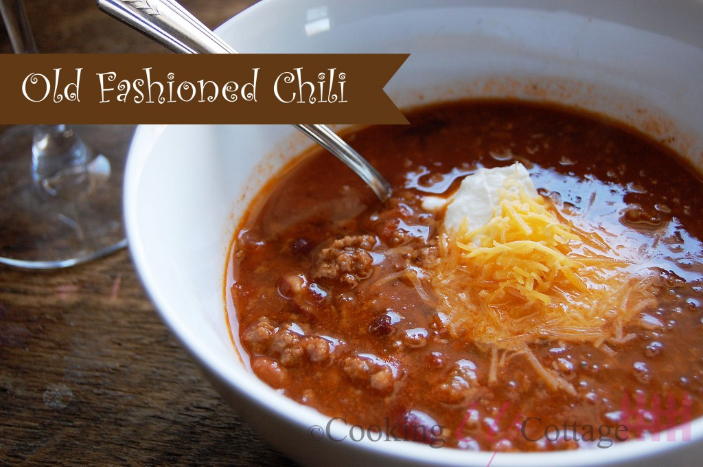 Old Fashioned Chili