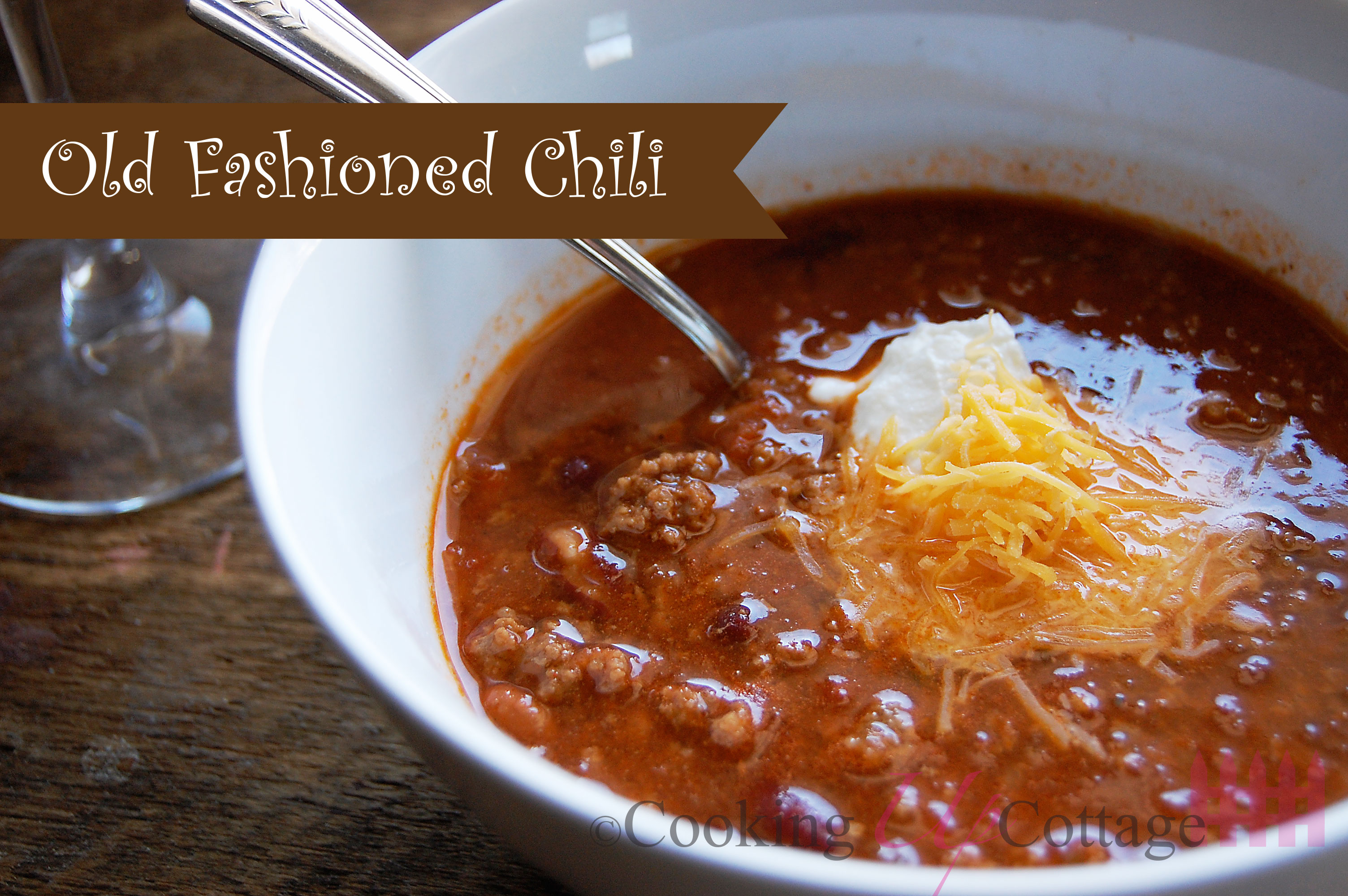 Old Fashion Chili Recipe