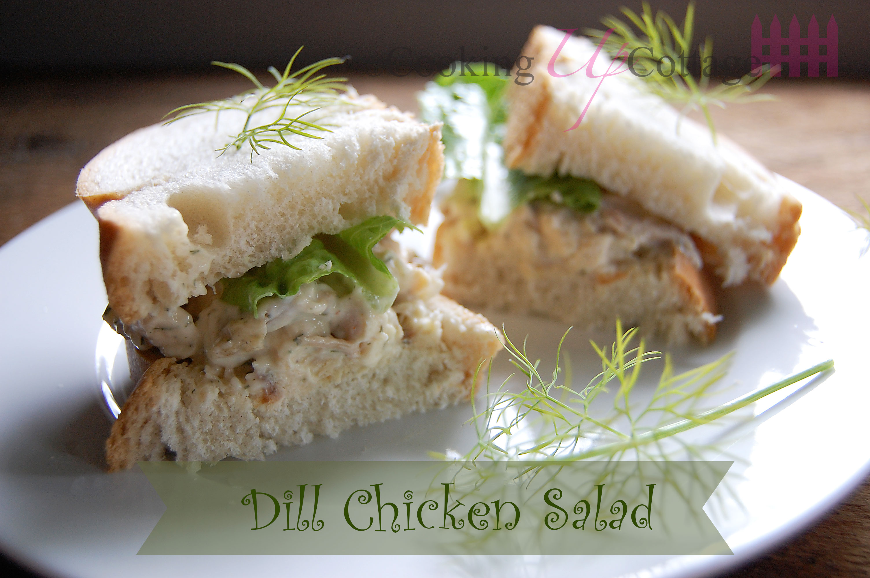Dill Chicken Salad Sandwiches Recipes — Dishmaps