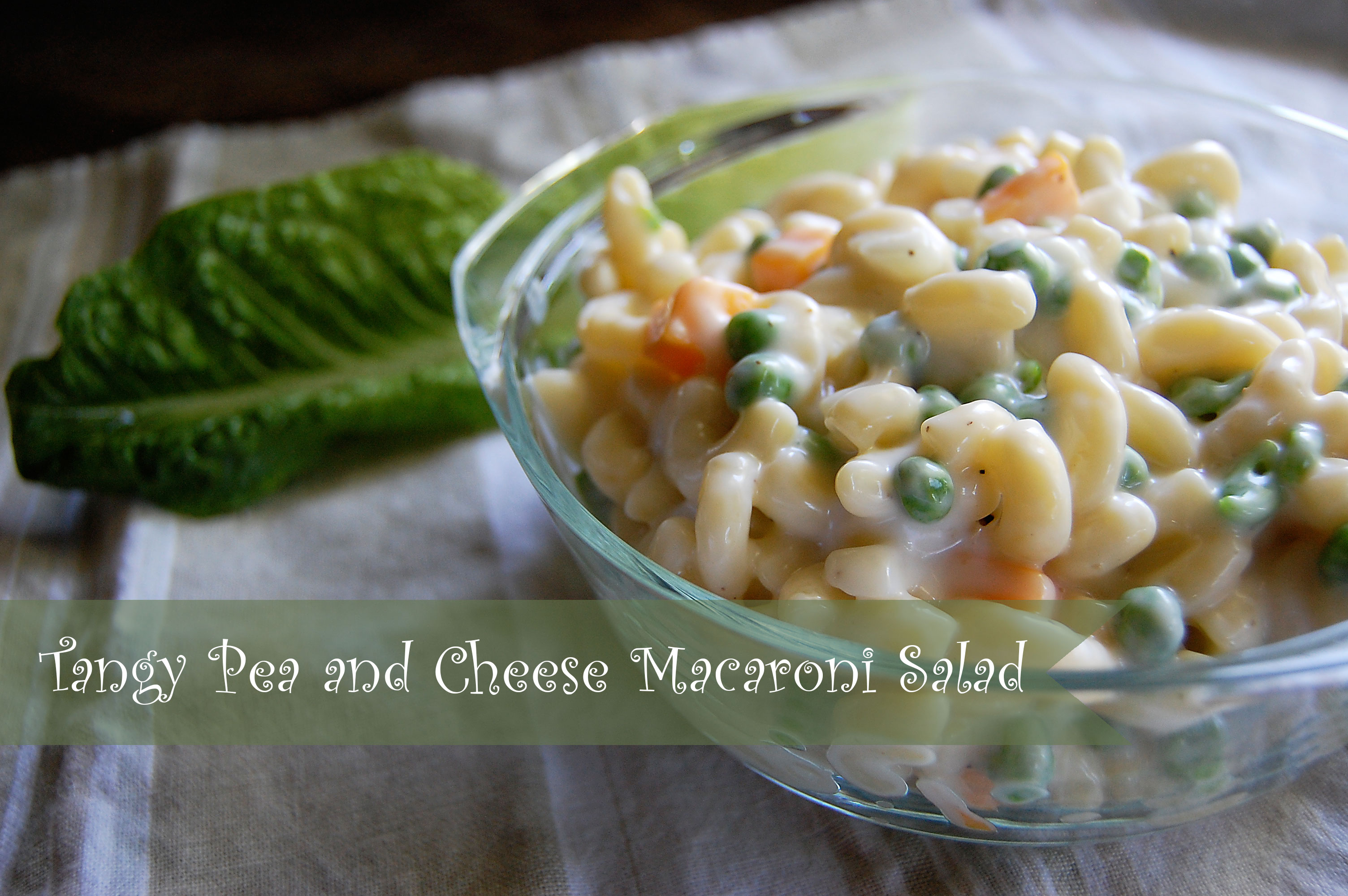 pasta salad with cheese