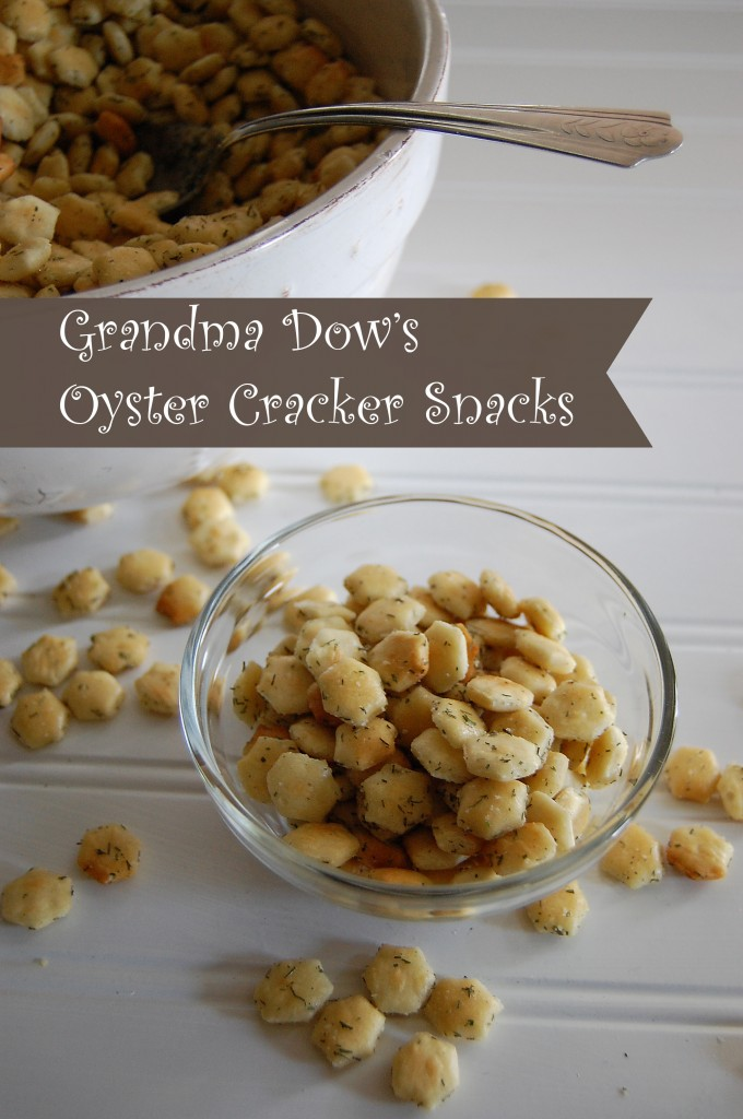 Grandma dow's oyster cracker snacks 2