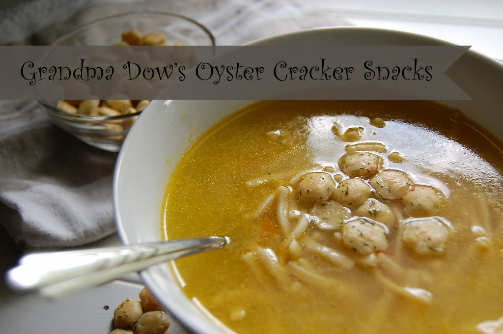 Grandms dow's oyster cracker