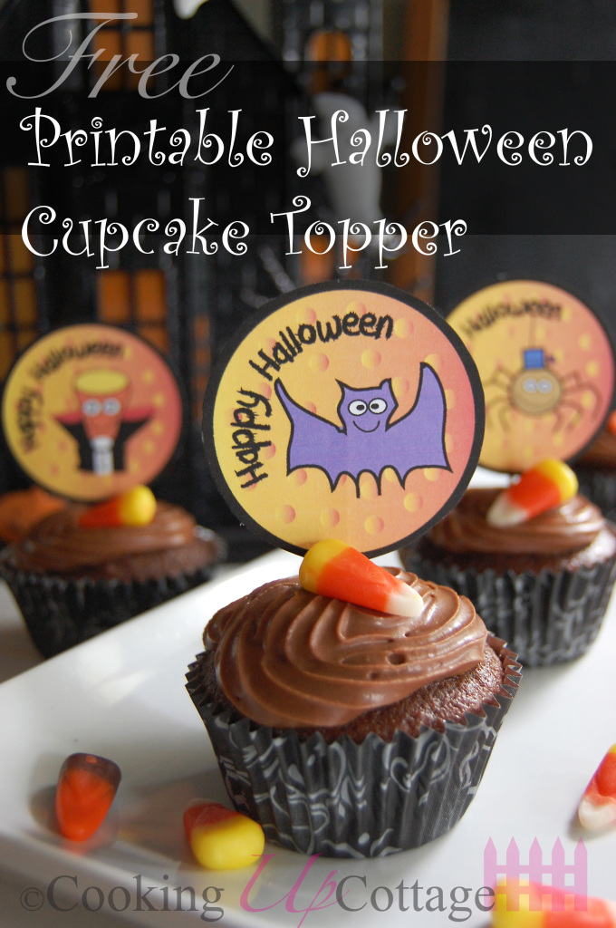 Halloween Cupcake Topper Picture