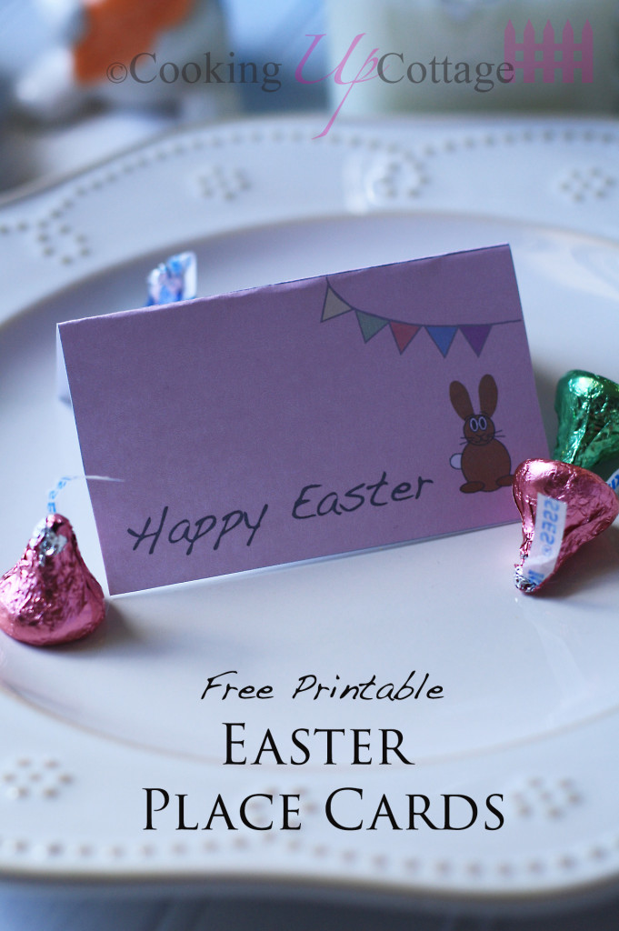 image relating to Easter Place Cards Printable called Ricotta Loaded Ss