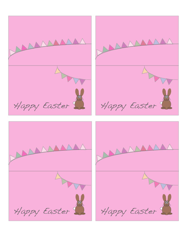Universal image for easter place cards printable
