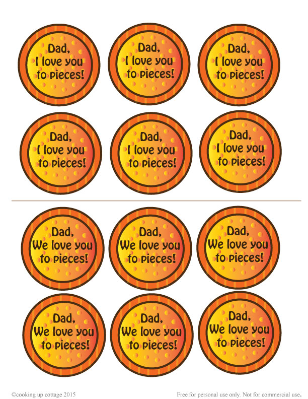 graphic regarding I Love You to Pieces Printable referred to as Pigs inside of a Blanket