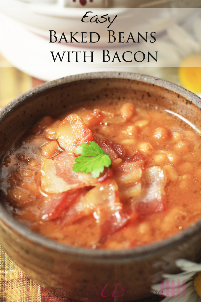 baed beans with bacon 4
