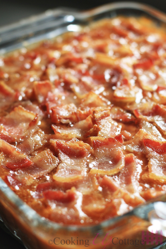 Easy Baked Beans with Bacon – Cooking Up Cottage