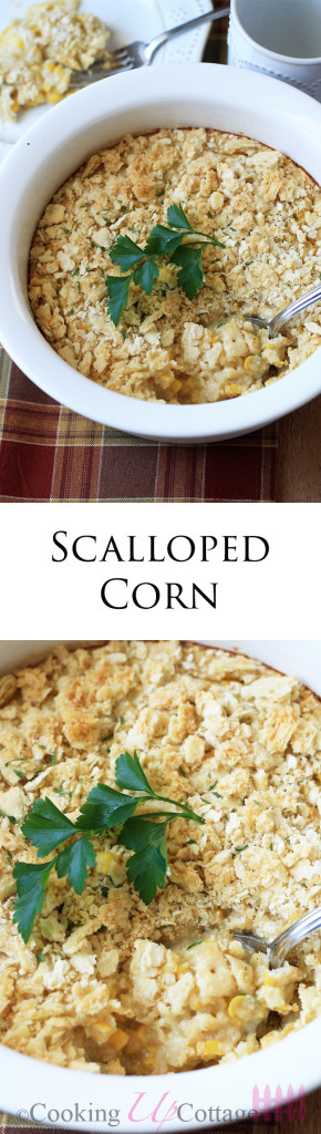 scalloped corn long pin
