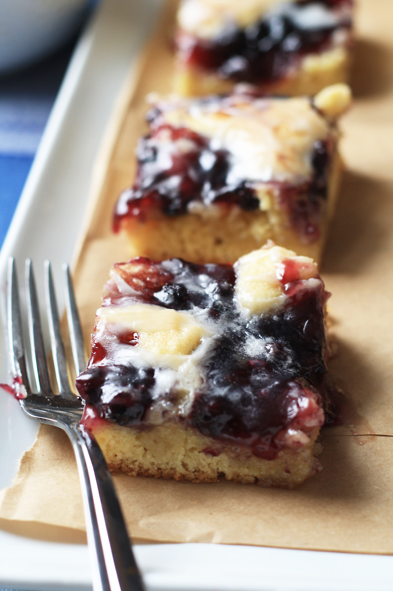 Blueberry Bars – Cooking Up Cottage