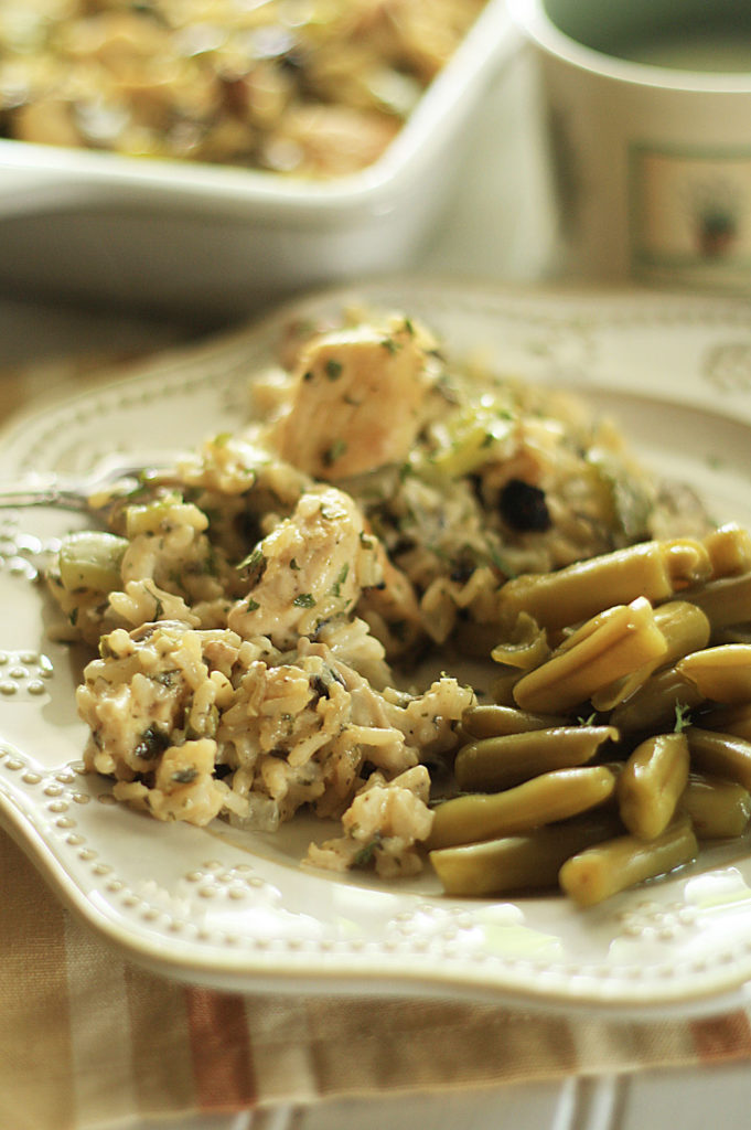 Chicken and Wild Rice Casserole – Cooking Up Cottage